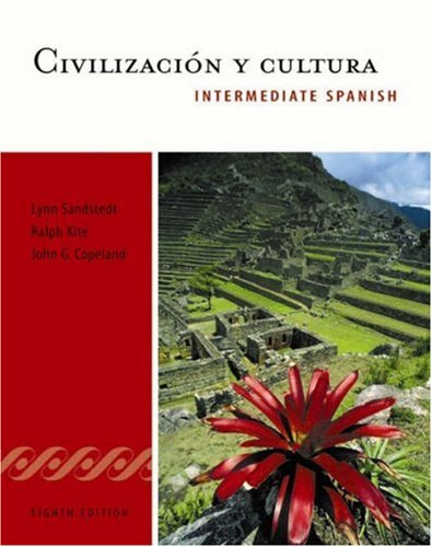 9780838457795: Civilizacion y cultura: Intermediate Spanish Series (The Copeland Series)