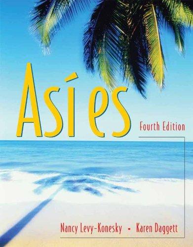 9780838458150: Asi es (with Audio CD)