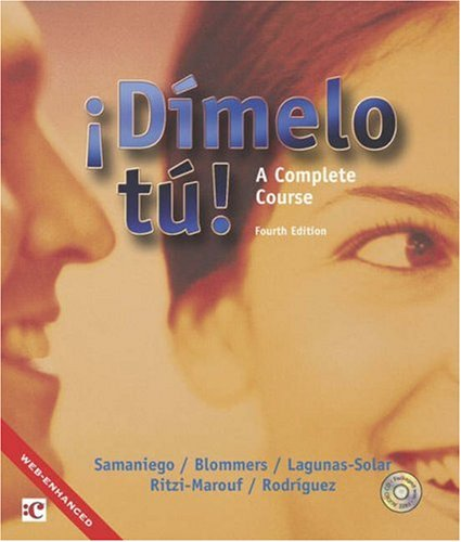 9780838458525: Dimelo tu!: A Complete Course (with Audio CD)