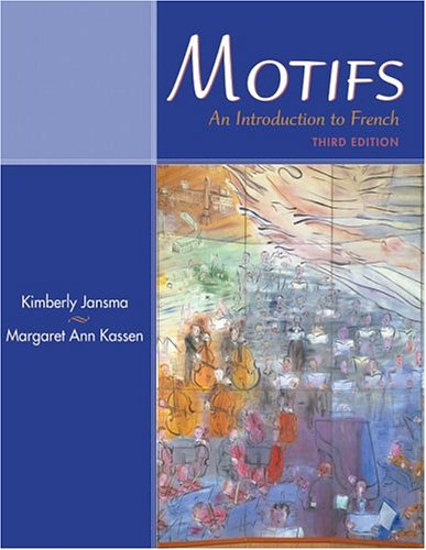9780838459324: Motifs: An Introduction to French (with Audio CD)