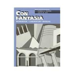 9780838459744: Con Fantasia: Workbook & Laboratory Manual (Italian Edition)