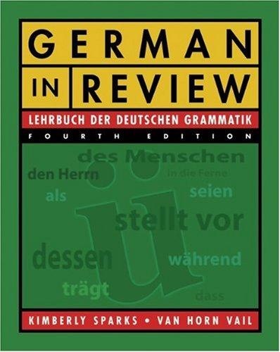 9780838460665: German in Review