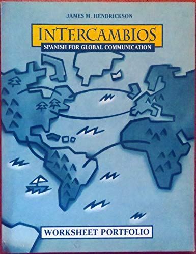 9780838461501: Intercambios: Spanish for Global Communication : Worksheet Portfolio