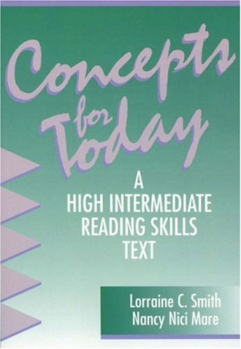 9780838465707: Concepts for Today, with no Answer Key: A High Intermediate Reading Skills Text