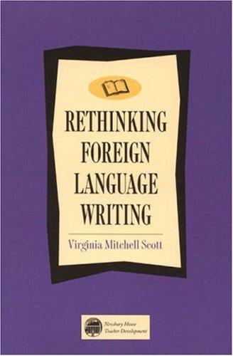 9780838466001: Rethinking Foreign Language Writing