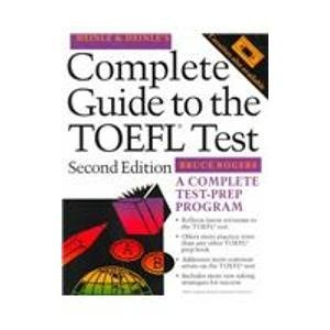 9780838467893: Heinle's Complete Guide to the Toefl Test