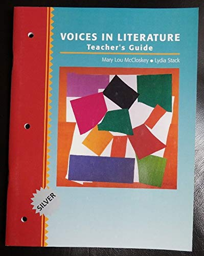 9780838470206: Voices in Literature, Teacher's Guide, Silver