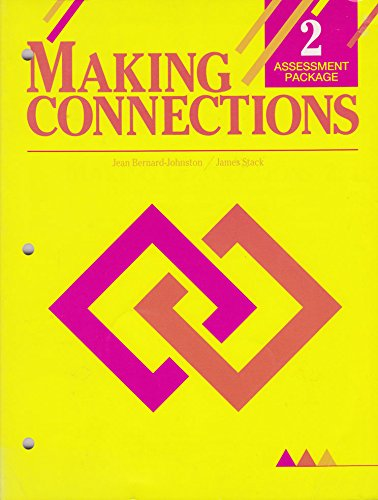 9780838470428: Making Connections 2 Assesment Package