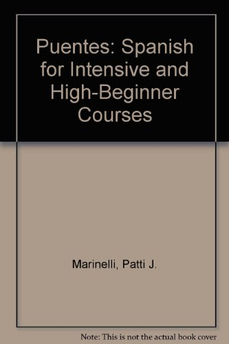 9780838478257: Puentes : Spanish for Intensive and High-Beginner Courses with Audio Cassette