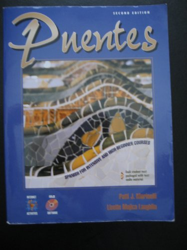 9780838478349: Puentes: Spanish for Intensive and High-Beginner Courses
