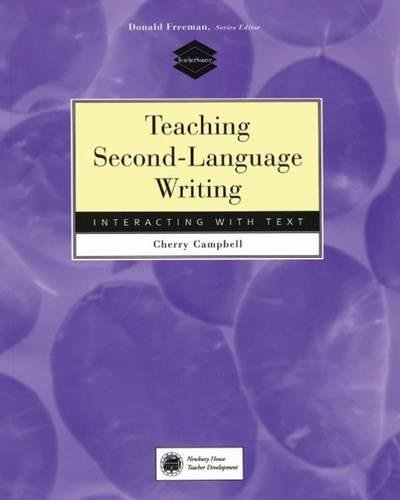 9780838478929: Teaching Second-Language Writing: Interacting with Text