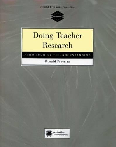 9780838479001: Doing teacher research from inquiry to understanding (Teachersource)