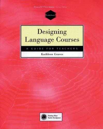 9780838479094: Designing Language Courses: A Guide for Teachers