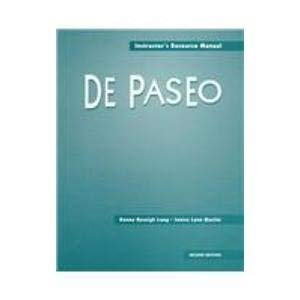 9780838481165: De Paseo: Instructor's Resource Manual