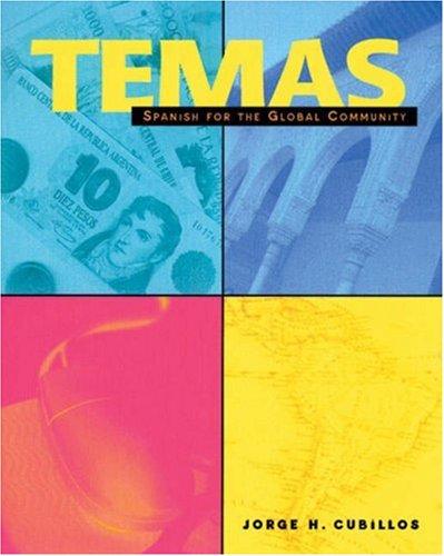 9780838482261: Temas: Spanish for the Global Community
