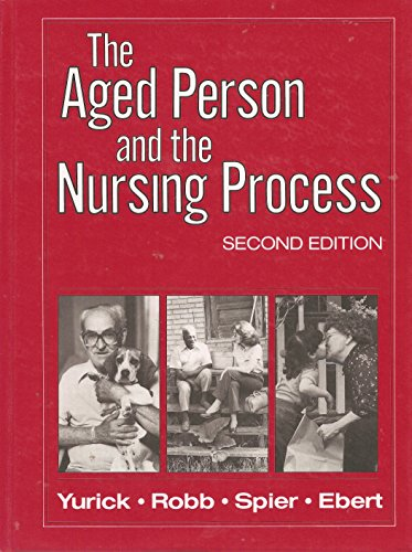 9780838500835: Aged Person and the Nursing Process