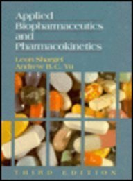 9780838501290: Applied Biopharmaceutics and Pharmacokinetics