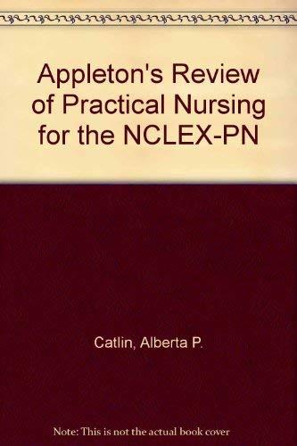 9780838502105: Appleton's Review of Practical Nursing for the Nclex-Pn