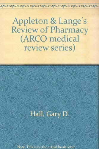 9780838502112: Appleton & Lange's Review of Pharmacy (Arco medical review series)