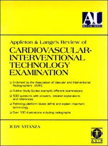 9780838502488: Appleton & Lange's Review of Cardiovascular Interventional Technology Examination