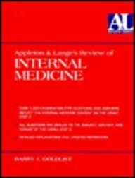 9780838502518: Appleton & Lange Review: Internal Medicine