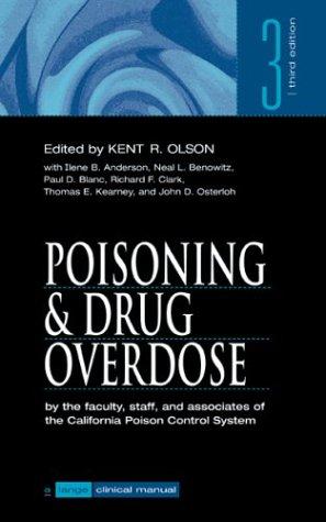 9780838502600: Poisoning and Drug Overdose (A Lange clinical manual)