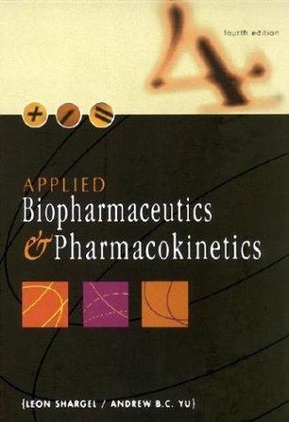 biopharmaceutics and pharmacokinetics University of montana scholarworks at university of montana syllabi course syllabi 9-2002 phar 43201: biopharmaceutics and pharmacokinetics todd cochran.