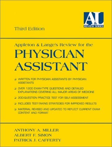 9780838502792: Appleton & Lange's Review for the Physician Assistant