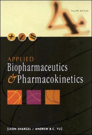 9780838503218: Applied Biopharmaceutics and Pharmacokinetics