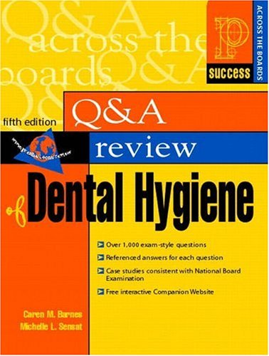 9780838503423: Prentice Hall Health Question and Answer Review of Dental Hygiene (5th Edition)