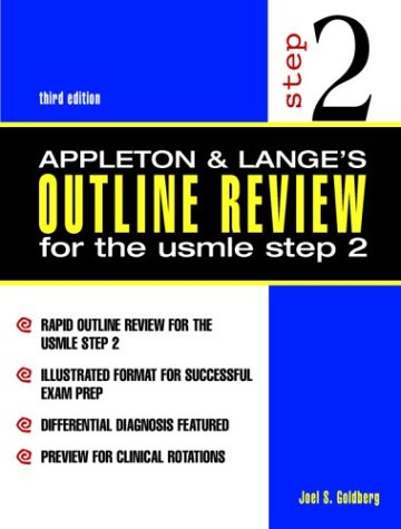 9780838503546: Appleton & Lange's Outline Review for the USMLE Step 2
