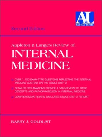 9780838503553: Appleton and Lange's Review of Internal Medicine