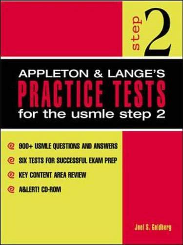 9780838503720: Appleton & Lange's Practice Tests for the USMLE Step 2