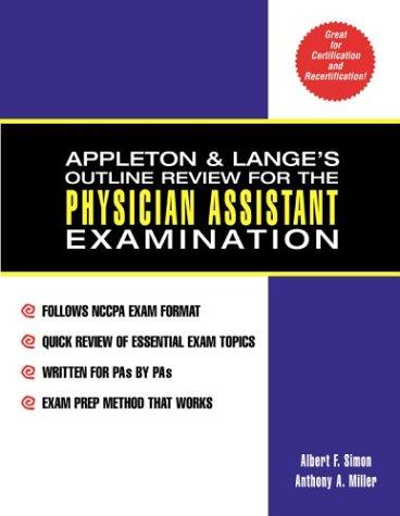 Appleton and Lange's Outline Review for the: Simon, Albert F.,