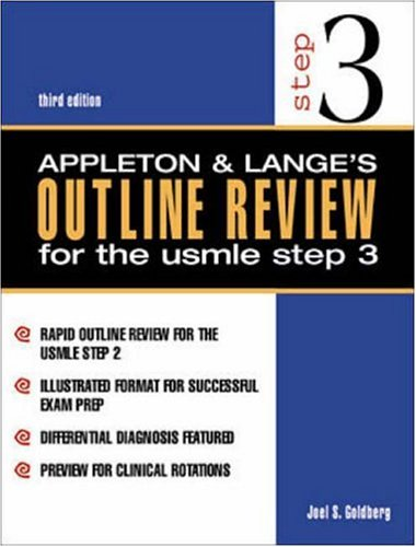 9780838504000: Appleton & Lange's Outline Review USMLE Step 3