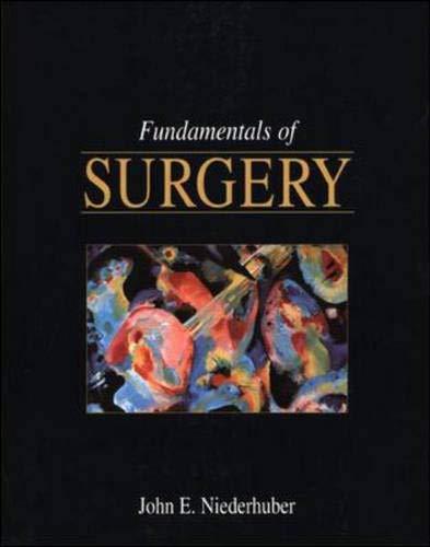 9780838505090: Fundamentals of Basic Surgery (Lange Medical Book)