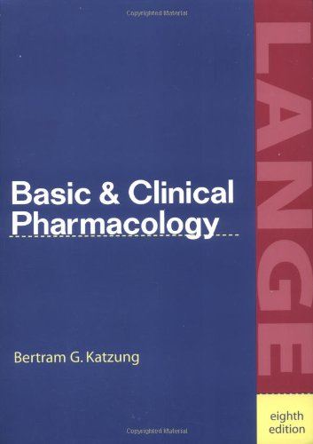 9780838505984: Basic and Clinical Pharmacology (Lange Medical Books)