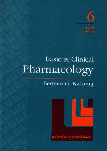 9780838506196: Basic & Clinical Pharmacology (A Lange Medical Book)