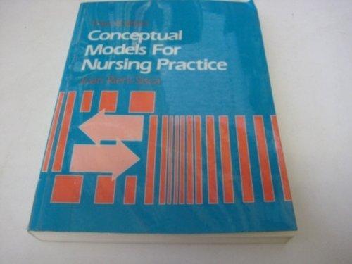 Conceptual Models for Nursing Practice: Joan P.Riehl Sisca