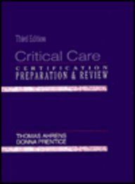 9780838512517: Critical Care: Certification Preparation and Review