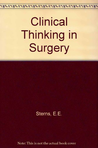 9780838513026: Clinical Thinking in Surgery
