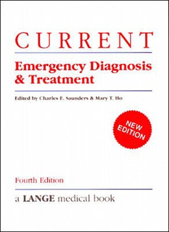 9780838513064: Current Emergency Diagnosis and Treatment
