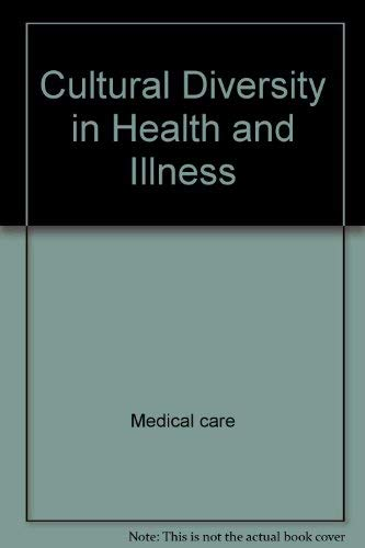 9780838513941: Cultural diversity in health and illness