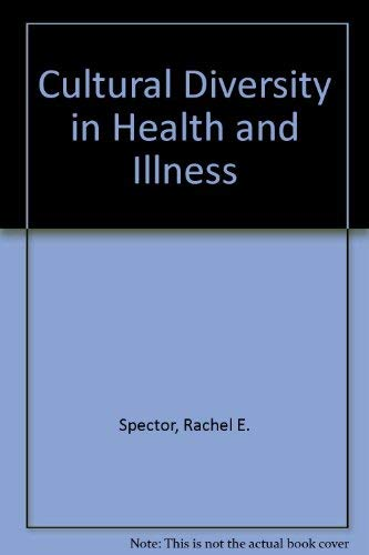 9780838513958: Cultural Diversity in Health and Illness