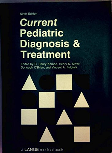 9780838514146: Current Paediatric Diagnosis and Treatment