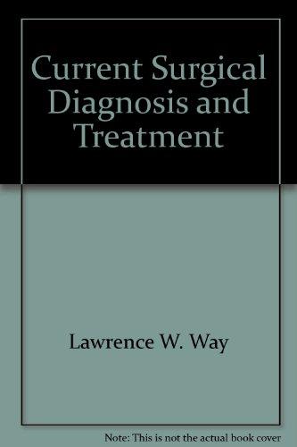 9780838514153: Current surgical diagnosis & treatment