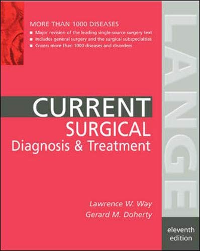 9780838514566: Current Surgical Diagnosis and Treatment