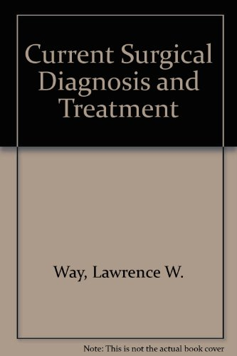 9780838515150: Current Surgical Diagnosis and Treatment