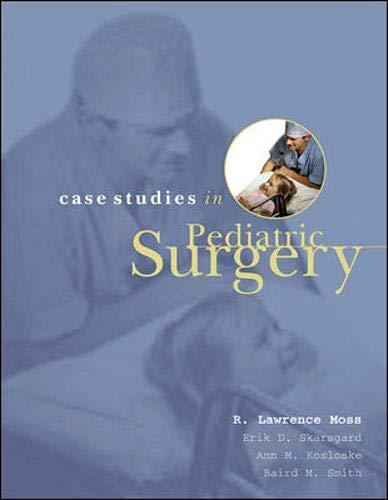 9780838515488: Case Studies In Pediatric Surgery