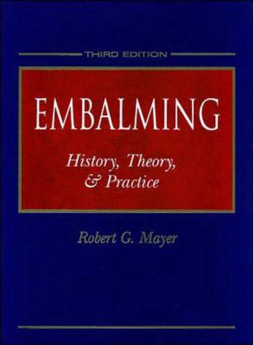 9780838521878: Embalming: History, Theory and Practice